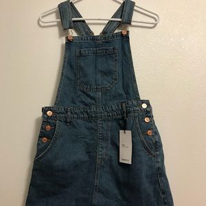Overall Dress W/Pockets